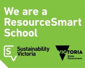 We are a ResourceSmart School